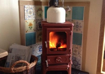 The Salamander Small Stove for Small Spaces