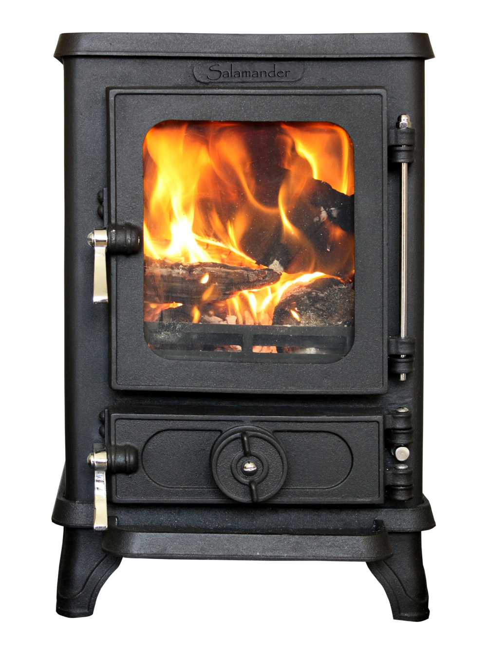 The Tiny Woodstove for small spaces - the Salamander Stove