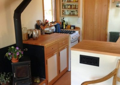 Small Stove in a Kitchen
