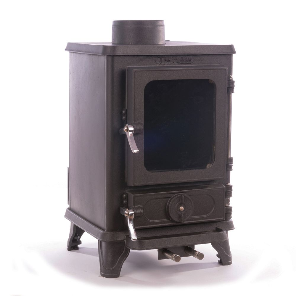 The Salamander Small Stove - fits small spaces perfectly